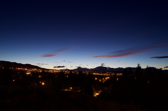 Paisajes: Noche en Calafate
