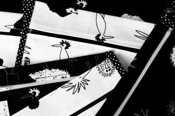 Productos: Pájaros en blanco y negro