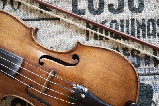 Productos: El violín y el arco