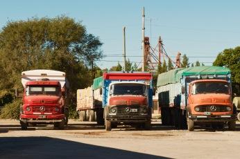 Exteriores: Camiones